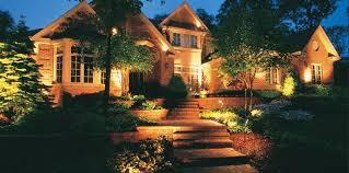 front yard lighting lighting peach tree landscaping lascassas tn