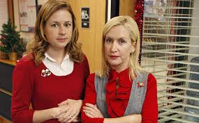 The fice Angela Kinsey Jenna Fischer in throwback pic