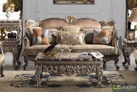 Upholstered Living Room Sets Traditional Upholstery French European Design Formal Living Room