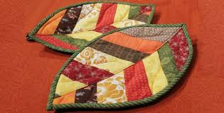Quilted Leaf Potholders Are So Easy to Make! - Quilting Digest & Quilted Leaf Potholders Adamdwight.com