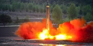 Resultado de imagem para Hwasong-12 ballistic rockets