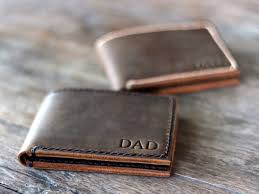 tags wallet for him engraved wallet