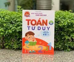 Toán tư duy cho bé 4-6 tuổi - Sách tiếng Anh cho con .com