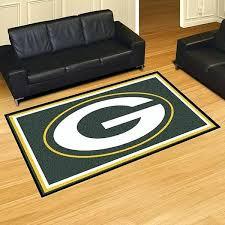 green bay packers rug green bay packers bathroom rug