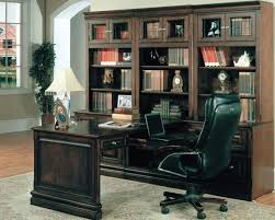 home office set. Sterling 7 Piece Peninsula Desk Home Office Set In Espresso Finish By Parker House - STE-505-7