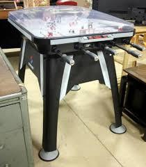 sportcraft silver dome electronic rod hockey table model 1 1 34 890 km 41 h x 55 w x 33 d cur 205