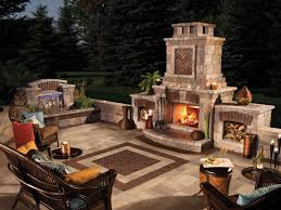 outside fireplaces ideas and inspirations to improve your outdoor. Image Of: Exteriors Eyecatching Modern Outdoor Fireplaces Turn The Patio With Regard To Fake Outside Ideas And Inspirations Improve Your A