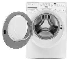 Washer And Dryer Dimensions Front Loading Whirlpool White Front Load Washer 48 Cu Ft Iec Wfw7590fw