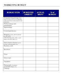 Marketing Budget Template Amazing How To Manage Your Entire Marketing Budget Free Tracker Template Pdf