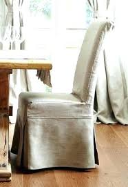 White Linen Dining Chair Slipcovers Dining Chairs Property Search