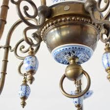 antique delft chandelier 1 275