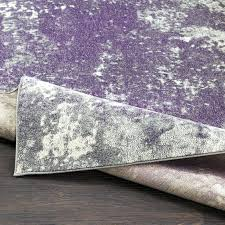 purple and grey rugs abstract medium gray dark purple area rug