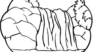 Free Coloring Pages Waterfalls Carriembeckerme