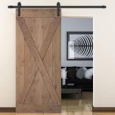 bent strap sliding door track hardware and x overlay primed sliding knotty solid wood panelled alder