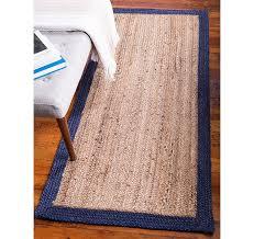 2 6 x 6 braided jute runner rug