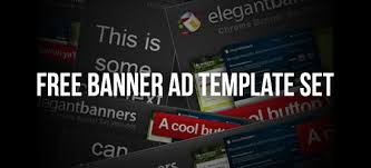 Free Friday Banner Ad Template Set Paper Leaf