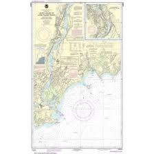 Noaa Nautical Chart 12370 North Shore Of Long Island Sound Housatonic River And Milford Harbor