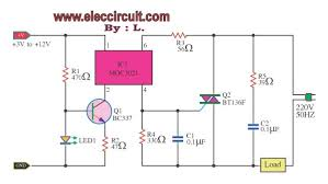 professional solid state relay circuit eleccircuit com the professional solid state relay
