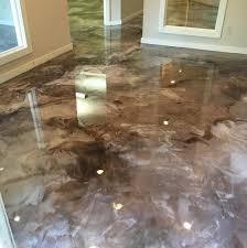 metallic epoxy flooring atlanta ga