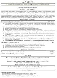 Sample Resume Office Manager Resume Samples For Office Manager