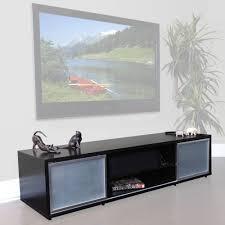 plateau sr v 75 tv stand espresso finish silver door frames