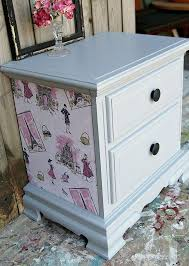 diy decoupage furniture. decoupage furniture project gray primer for paint diy a