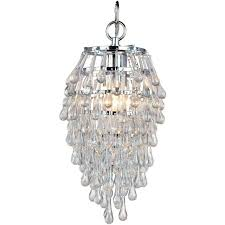 agreeable tadpoles mini chandelier table lamp in white diamond for closets crystal plug blue lighting shades