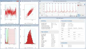 Heart Rate Variability Chart Heart Rate Variability Hrv Analysis Software Measure