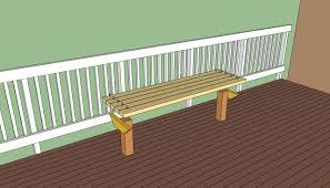 diy patio bench wooden material