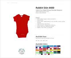 Rabbit Skins 4400 Size Chart 4400 Rabbit Skins Infants 5 Oz Baby Rib Lap Shoulder