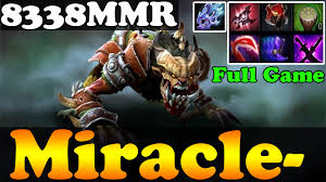 dota 2 miracle 8338mmr plays lifestealer full game ranked
