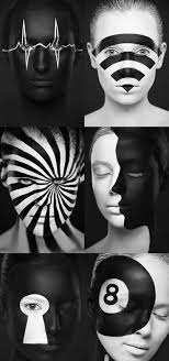Best 25 Black and white makeup ideas on Pinterest