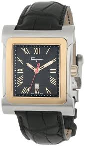 salvatore ferragamo men s f58lbq9509 s009 palagio square rose gold salvatore ferragamo men s f58lbq9509 s009 palagio square rose gold two tone watch