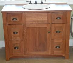 wood 42 inch bathroom vanities