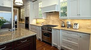 Granite With Backsplash Mesmerizing Granite Kitchen Backsplash Photos Transitional Kitchen By
