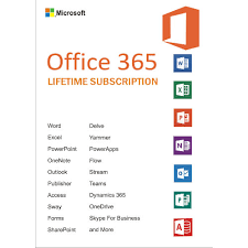 Microsoft Office 365 Pricing Office 365 Lifetime Account Subscription 5 Devices 5tb Onedrive