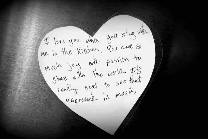 love notes for her from the heart