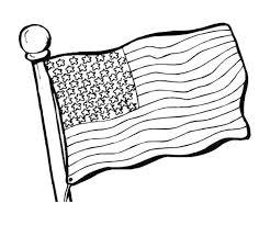 Original American Flag Coloring Page Bestappsforkidscom