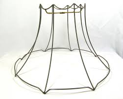 Lamp Shade Wire Frame Large For Table Floor Hanging Custom Hand Made Diy Unused Ebay