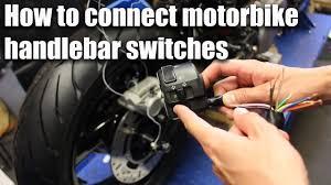 How to connect <b>motorbike</b> handlebar <b>switches</b> (wiring part 4 ...