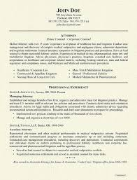 Attorney Resume Classy Healthcare Attorney Resume Example