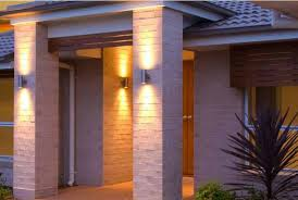 exterior up down wall lights