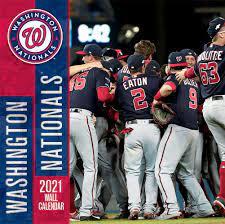 Washington Nationals 2021 Calendar ...