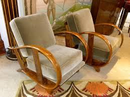 art moderne furniture. czech bentwood art deco chairs moderne furniture