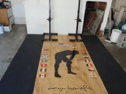 garage gym wall decor