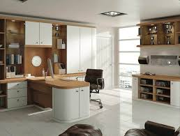 contemporary home office furniture. fitted home office in optima pure white and natural oak contemporary furniture