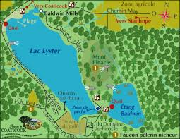 Park Harold F. Baldwin - Site map