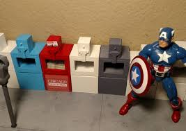 Miniature Vending Machine Mesmerizing Miniature Newspaper Vending Machine 48482 Scale For Marvel Legend