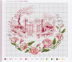 French Cross Stitch Charts Free Cross Stitch Patterns Mostly French Point De Croix
