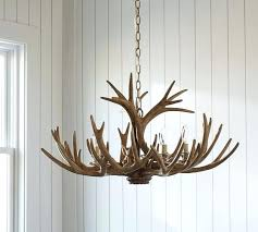 faux antler chandelier deer plans